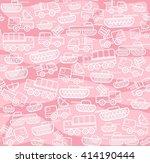military equipment  pink... | Shutterstock .eps vector #414190444