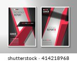 brochure template  flyer design ... | Shutterstock .eps vector #414218968