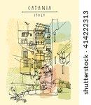 Catania  Sicily  Italy....