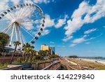 myrtle beach  south carolina ... | Shutterstock . vector #414229840