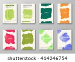 abstract artistic background... | Shutterstock .eps vector #414246754