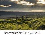 stunning english countryside... | Shutterstock . vector #414261238