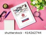 bangkok thailand    may 2 2016  ... | Shutterstock . vector #414262744