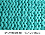 Knitted Blanket Background ...