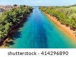 Small photo of Potidea canal, Halkidiki, Greece