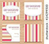 feminine cute soft color stripe ...   Shutterstock .eps vector #414299500