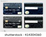 credit cards | Shutterstock .eps vector #414304360