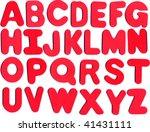 alphabet | Shutterstock . vector #41431111
