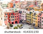 Colorful Houses Of Vernazza...