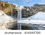 Frozen Beautiful Waterfall...