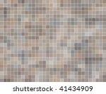 seashell color square tiles ... | Shutterstock .eps vector #41434909