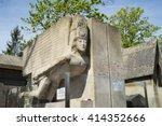 paris  france   may 2  2016 ... | Shutterstock . vector #414352666