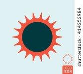 sun icon. sunny weather. vector ...