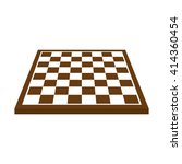 Chessboard Icon. Flat Vector...
