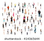 office culture united company  | Shutterstock . vector #414365644