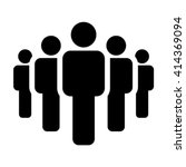 people team icon   group of men ... | Shutterstock .eps vector #414369094