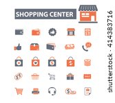 shopping center icons  | Shutterstock .eps vector #414383716