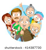 vector illustration of big... | Shutterstock .eps vector #414387730