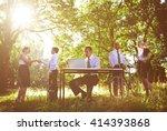 environmental friendly themed... | Shutterstock . vector #414393868