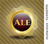 ale gold badge | Shutterstock .eps vector #414400990