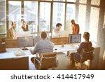 business corporation... | Shutterstock . vector #414417949