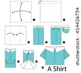 step by step instructions how... | Shutterstock .eps vector #414426754