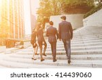 group of business people...   Shutterstock . vector #414439060