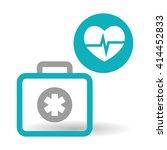 medical care design. health... | Shutterstock .eps vector #414452833