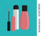 make up design. cosmetic icon.... | Shutterstock .eps vector #414478960
