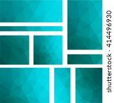 abstract banner with business... | Shutterstock .eps vector #414496930