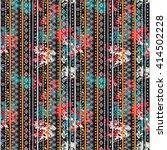 ethnic boho seamless pattern....   Shutterstock .eps vector #414502228