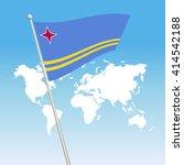 aruba flag | Shutterstock .eps vector #414542188