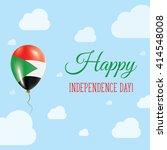 flat patriotic poster for... | Shutterstock .eps vector #414548008
