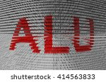 Alu In The Form Of Binary Code  ...