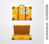travel bag vector illustration  ... | Shutterstock .eps vector #414565006
