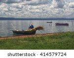 Fisherman Leaving The River...