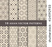 eastern style and arabic luxury ... | Shutterstock .eps vector #414592933