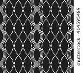 vector seamless circle pattern. ... | Shutterstock .eps vector #414595489