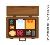 flat vector icon   illustration ... | Shutterstock .eps vector #414598738