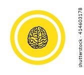 brain icon | Shutterstock .eps vector #414603178