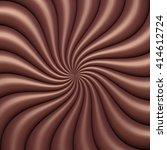 abstract chocolate swirl... | Shutterstock .eps vector #414612724