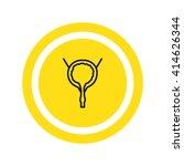 urinary bladder icon vector   | Shutterstock .eps vector #414626344