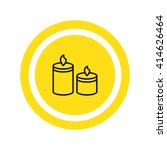 candle icon. candle icon vector....