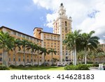 The Biltmore hotel in coral Gables. FL. USA The historic resort is located in coral Gables, Florida near Miami. the Biltmore Hotel became the hallmark of coral Gables.