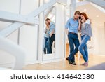 lifestyle photo of couple in... | Shutterstock . vector #414642580