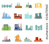factory icons set.  | Shutterstock .eps vector #414670960
