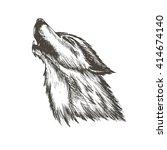 sketch vector illustration of... | Shutterstock .eps vector #414674140
