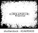 grunge frame   abstract texture ... | Shutterstock .eps vector #414690433