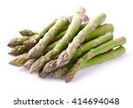 Asparagus On A White Background
