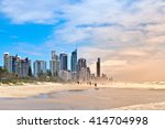 Gold Coast Beach With...
